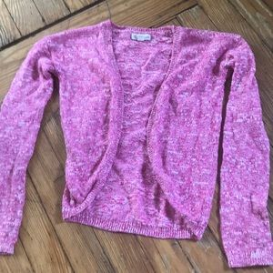 Girls lightweight shrug sweater by tucker & Tate
